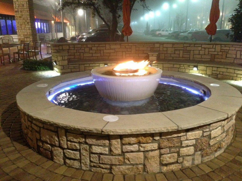 360 fire and water feature for Fire and water features