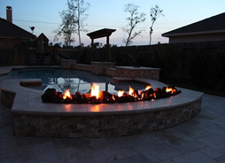 Backyard Fire Feature
