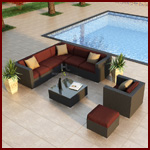 Patio Furniture 8 Piece