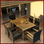 Outdoor Patio Dinning Sets