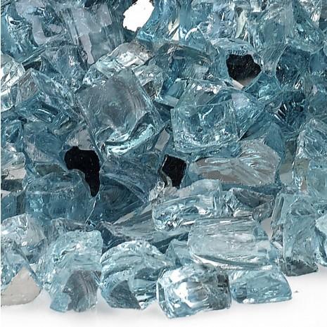"""Fire Pit Glass Azuria 1/2"""""""