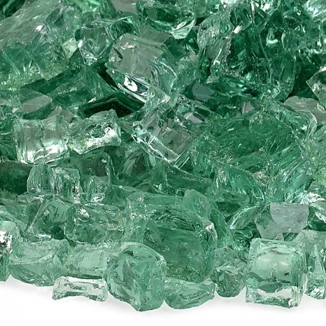 Fire Glass Classic Evergreen 1/2''