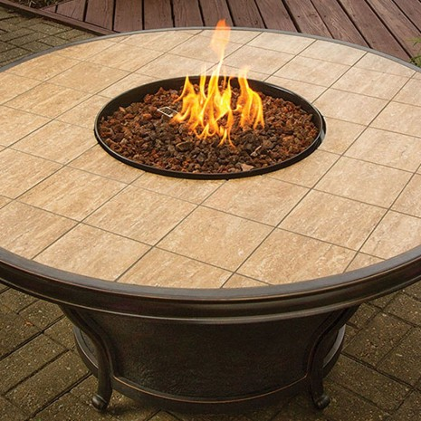 "48"" Fire Table. Agio Conquest"