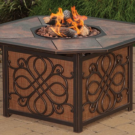 "43"" Fire Table. Agio Vista"