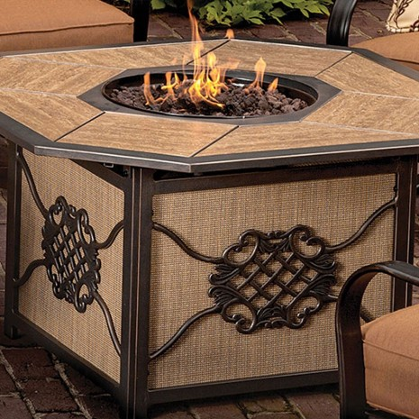 """43"""" Fire Table. Willowbrook"""