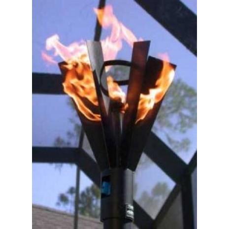 Tiki Torch Fin Style