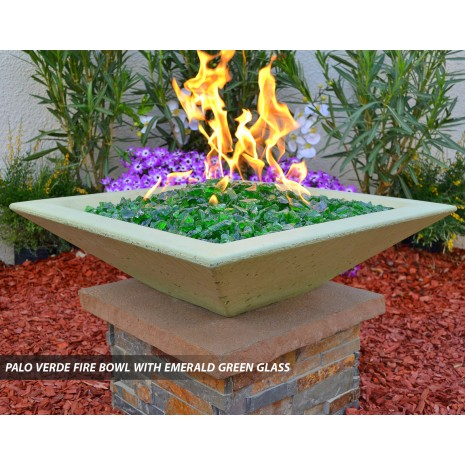 Concrete Fire Bowls Square 48''