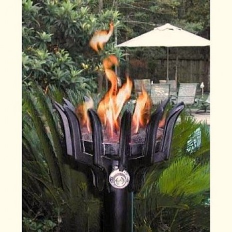 Automated Remote Controlled Crown Style Tiki Torch