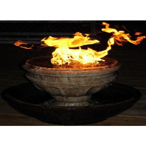Fire on Water Double Bowl