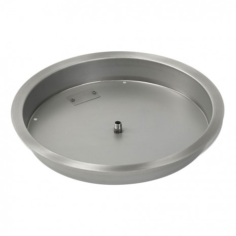 "25"" Drop In Burner Pan. ROUND"