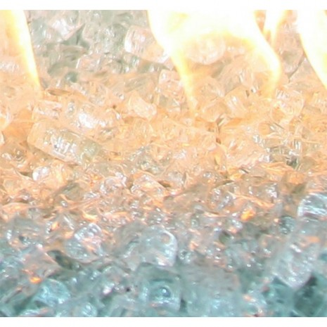 Large Fire Glass