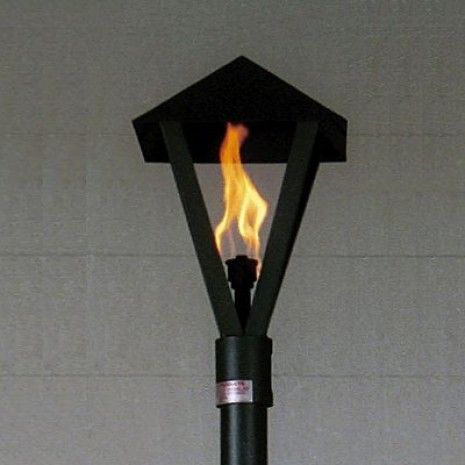 Automated Remote Controlled Lantern Style Tiki Torch