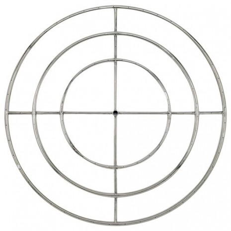 Round Stainless Steel Fire Ring 48 ''NG