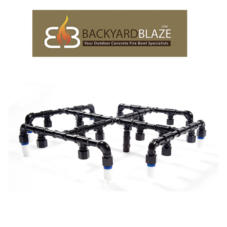 "Fire on Water Manifold System 42"" XR Style"
