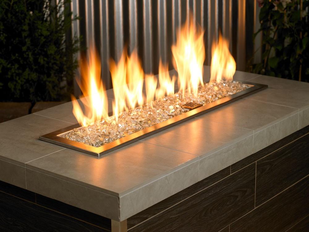 Fire Glass Reflective Platinum 1 4