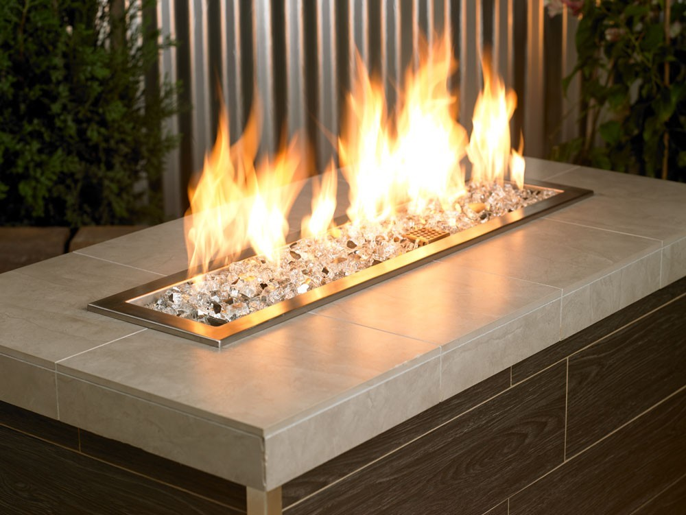 Fire Pit Glass Reflective Starfire 1 2""