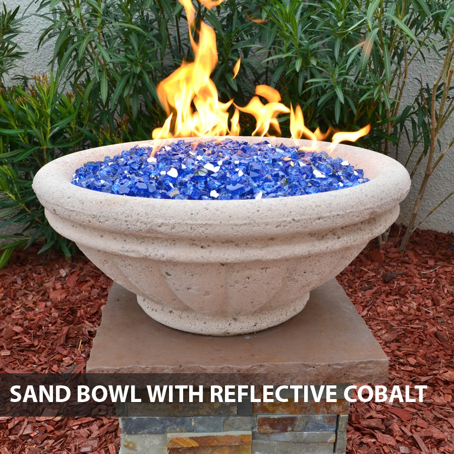 Concrete Fire Bowl Tuscany 24 With Scupper