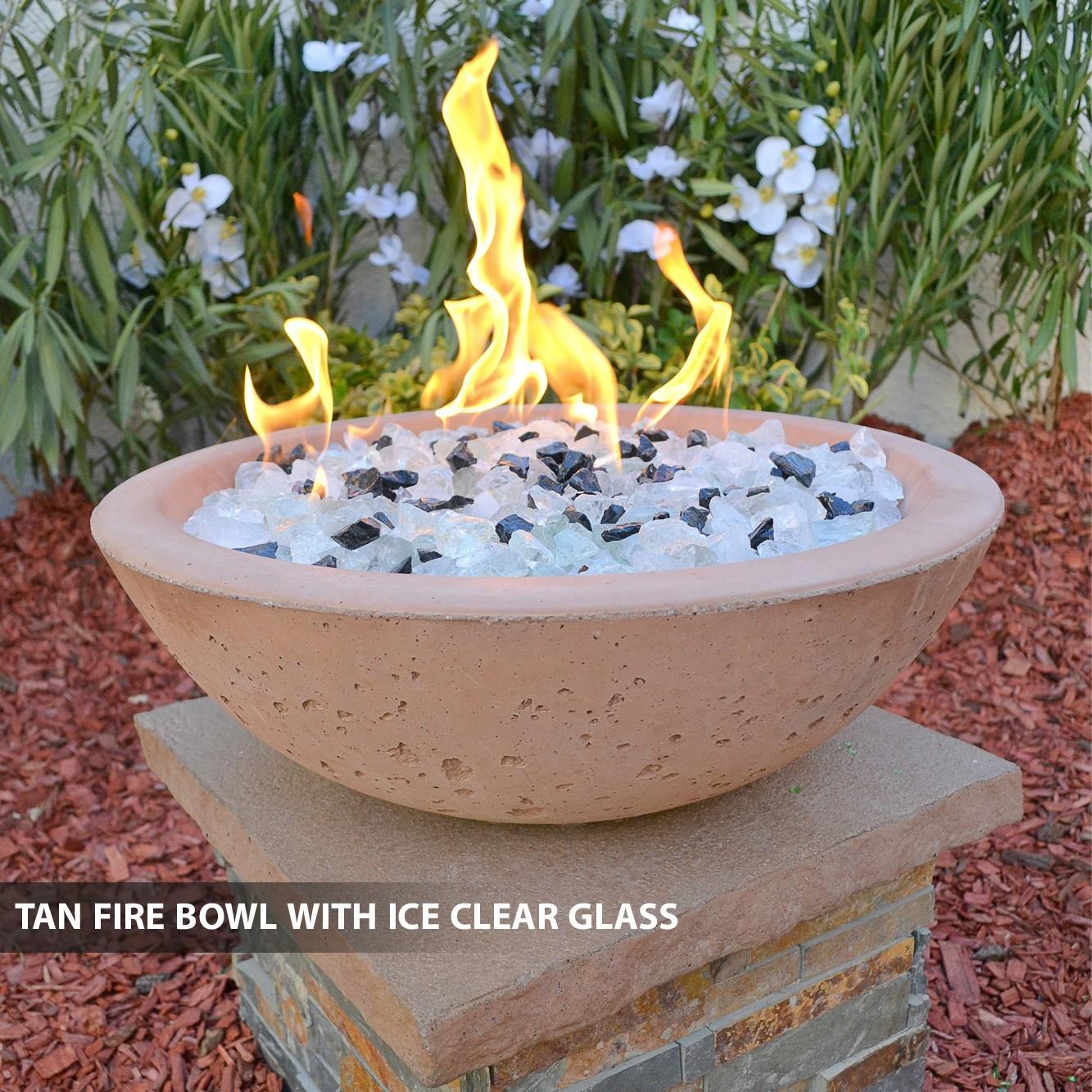concrete fire bowls round 33