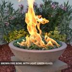"Concrete Fire Bowls Round 33"""