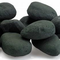 Lite Stones. Matte Black. 15 Stone Set