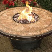 """48"""" Fire Table. Agio Balmoral"""
