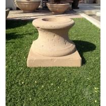 Concrete Fire Bowl Pedestal Tuscany 36