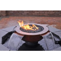 Evolution 360. FIRE AND WATER. With 4 Scupper Feature