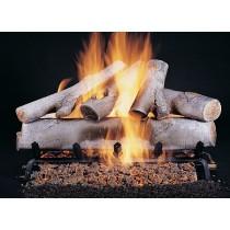 White Birch Fire Log Set 18''