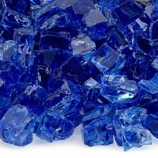 """Fire Glass Classic Cobalt Blue 1/2"""""""