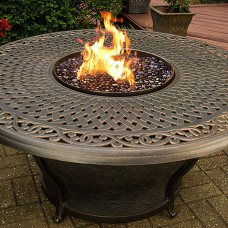 "48"" Fire Table. Agio Charleston"