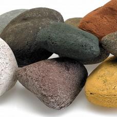 Lite Stones. Beach Pebble Mix. 15 Stone Set