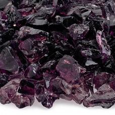 "Fire Pit Glass Purple 1/2"""