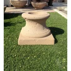 """Concrete Fire Bowl Pedestal Tuscany 24"""""""
