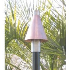 Gas Tiki Torches Copper Cone