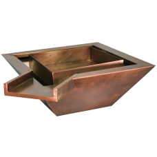 Copper Fire  and Water Bowl. Manual
