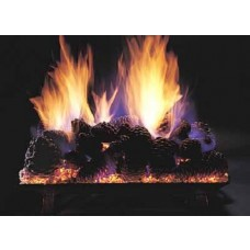Evening Pine Cone Fire Set 24''