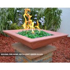 """Concrete Fire Bowls Square 30"""""""