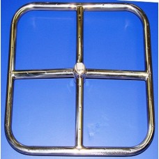12'' Square Stainless Steel Fire Ring