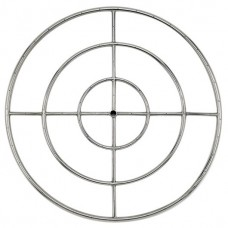 Round Stainless Steel Fire Ring 36 ''NG