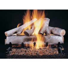 White Birch Fire Log Set 30''