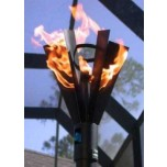 Automated Remote Controlled Tiki Torch Fin Style
