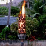 Automated Remote Controlled Plumeria Tiki Torch