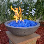 Concrete Fire Bowls Round 27''