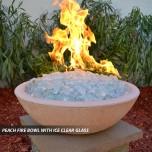 Concrete Fire Bowls Round 48''