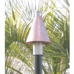Automated Remote Controlled Copper Cone Tiki Torch