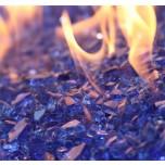 """Fire Glass Classic Cobalt Blue 1/4"""""""