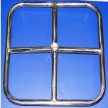 18'' Square Stainless Steel Fire Ring