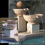 Bowl Tuscany Two Tier  With Scupper