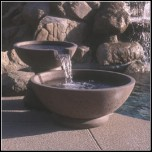 Bowl  Wok Style Scupper Two Tier