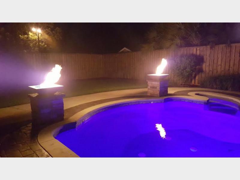 Pool Fire Bowls Aug 09 2016 Pool Fire Bowls